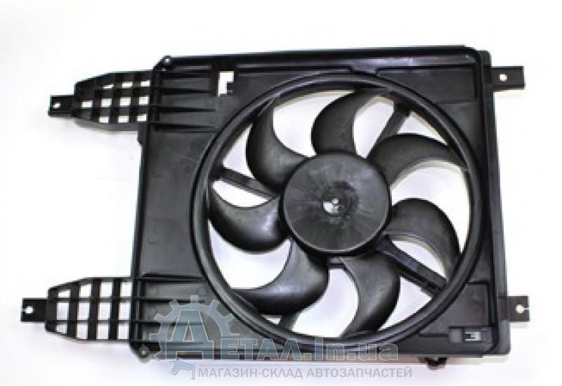 Вентилятор охлаждения радиатора Шевроле АВЕО Т-255 основной хетчбек фото, купить