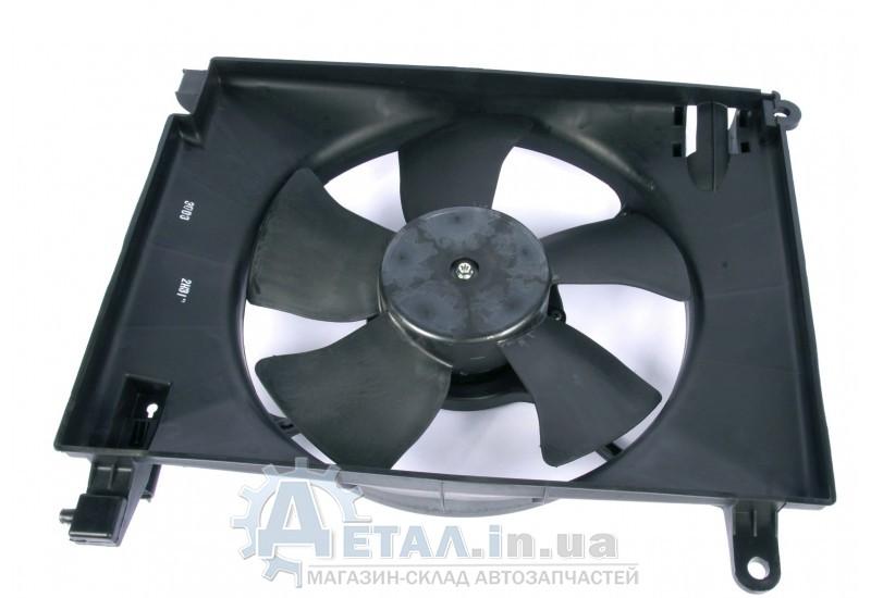 Вентилятор охлаждения радиатора Шевроле АВЕО 1,6 основной фото, купить