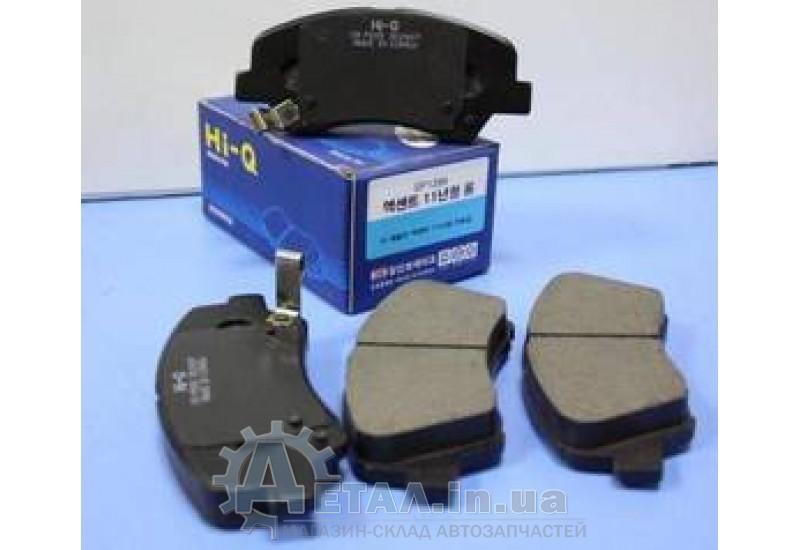 Колодки тормозные передние Хюндай Accent КИА Rio 1.4 1.6 фото, купить