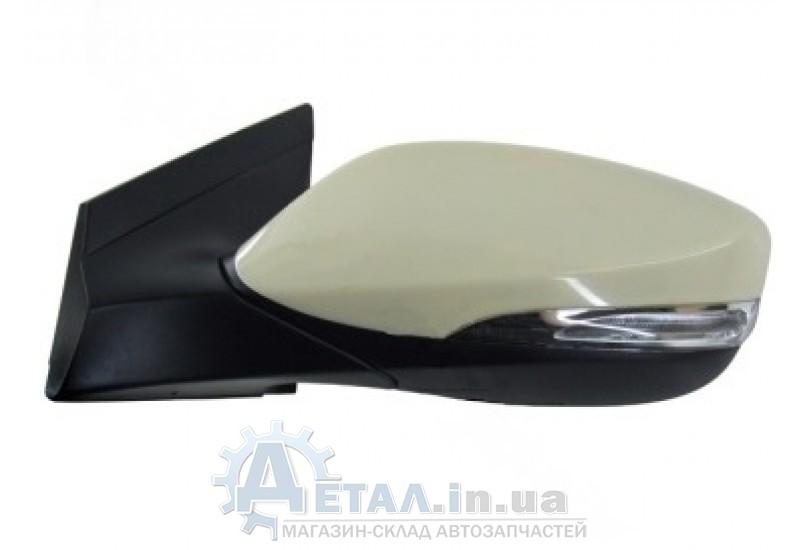 Зеркало левое электрическое с подогревом Хюндай КИА до 2014 г фото, купить