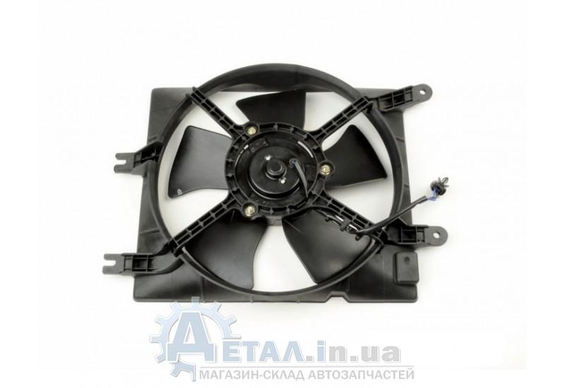 Вентилятор охлаждения радиатора Лачетти дополнительный фото, купить
