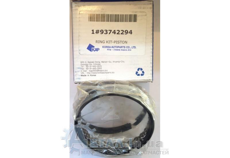 Кольца поршневые Ланос Нексия 1.5 +0.25 фото, купить