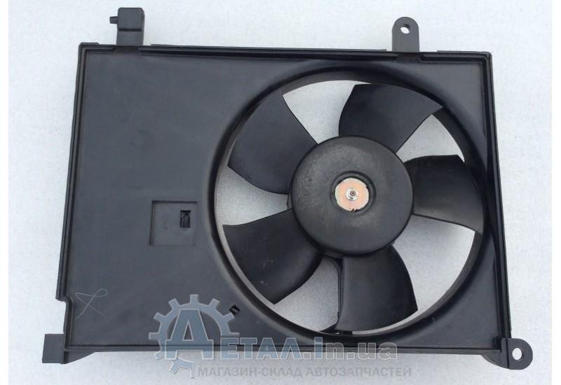Вентилятор охлаждения радиатора Ланос дополнительный фото, купить