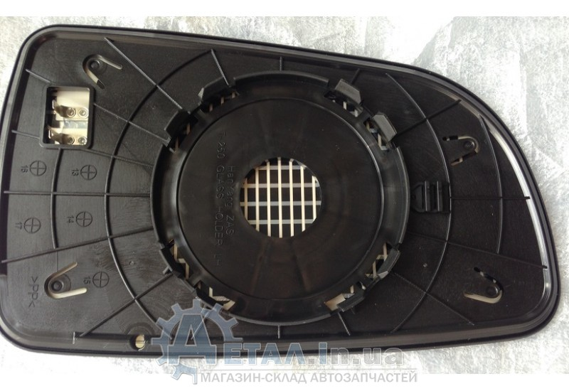 Зеркальный элемент Ланос для зеркала с поворотом левый фото, купить