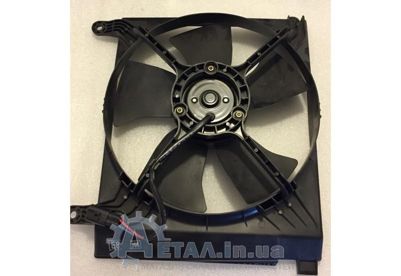 Вентилятор охлаждения радиатора Ланос основной фото, купить