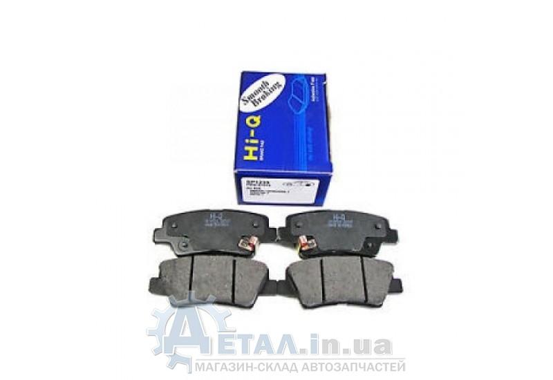 Колодки тормозные задние Хюндай Sonata 2008 - 2009 г Tucson 2008 - 2009 г Accent с 2011 г Elantra с 2011 г фото, купить