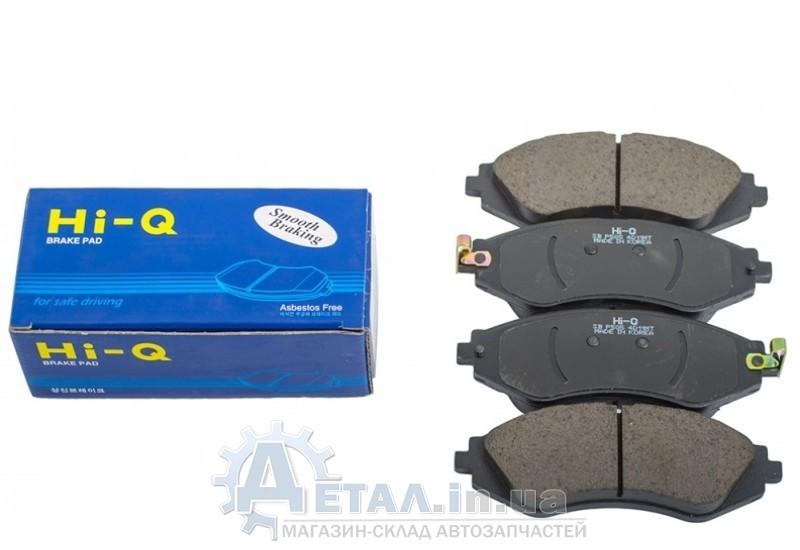 Колодки тормозные передние Лачетти Hi-Q + сигнализаторы фото, купить